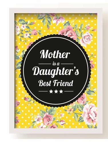 Mother Best Friend Poster-All About Wall